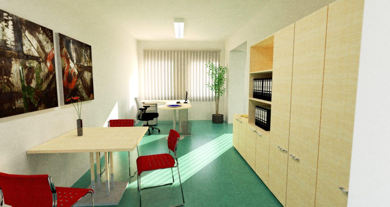 Planung Büroeinrichtung Für RolandKnorr.de, Eilenburg