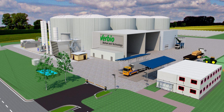 Biogas, Verbio Ungarn